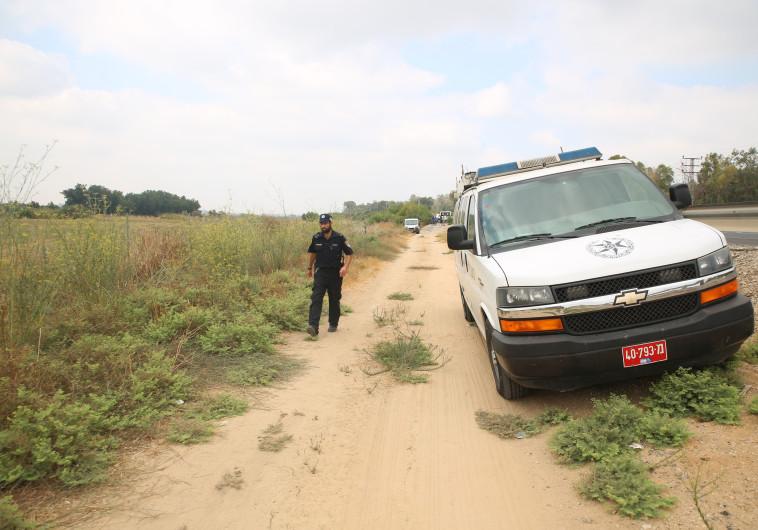 זירת ירי בגנב משאית, בית אלעזרי