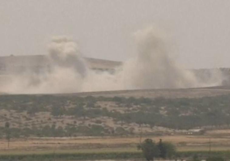 תקיפה של צבא טורקיה בצפון סוריה