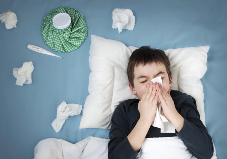 ילד חולה