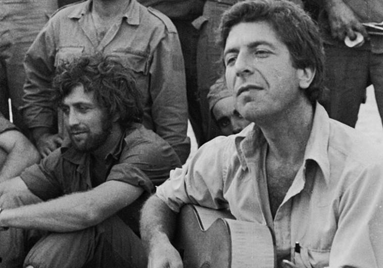 """לאונרד כהן מופיע לפני חיילי צה""""ל, 1973"""