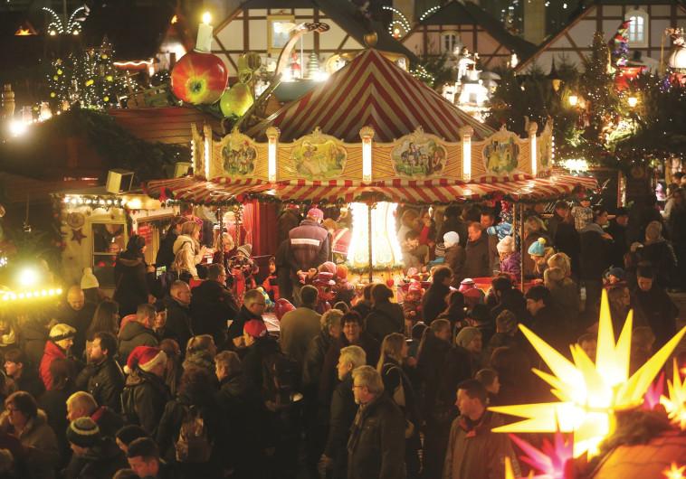 שוק חג המולד בדרזדן