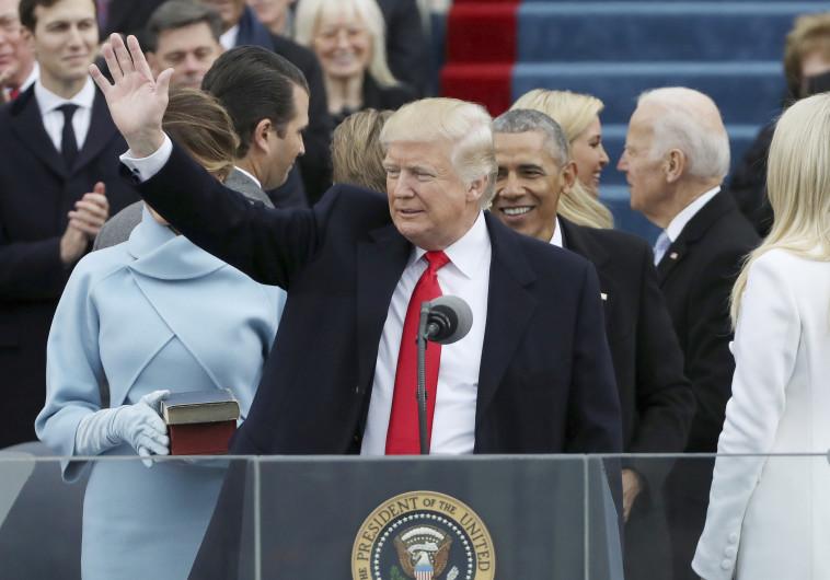 דונלד טראמפ מושבע לנשיאות