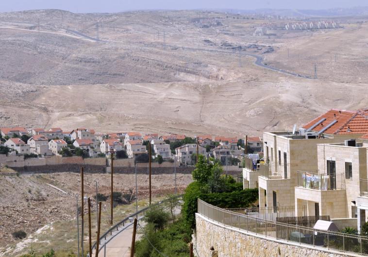 התנחלות ביהודה ושומרון. צילום: פלאש 90