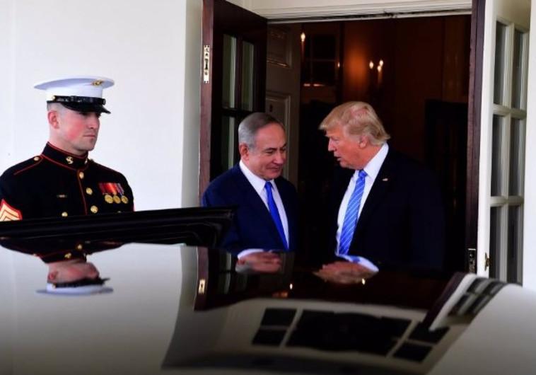 טראמפ ונתניהו בבית הלבן