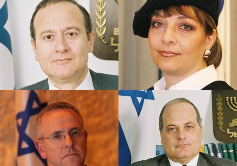 השופטים שנבחרו לבית המשפט העליון