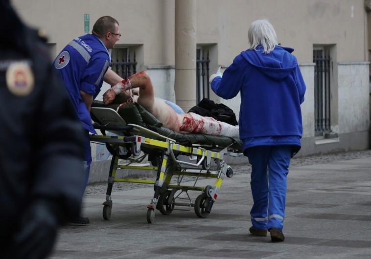 הפיגוע בסנט פטרבורג: פורסם שם החשוד בגרימת הפיצוץ