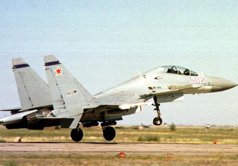 מטוס סוחוי 30 של חיל האוויר הסיני
