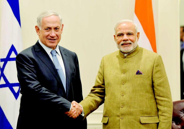 """""""אנחנו רואים רק את קצה קצהו של פוטנציאל המסחר עם הודו"""""""