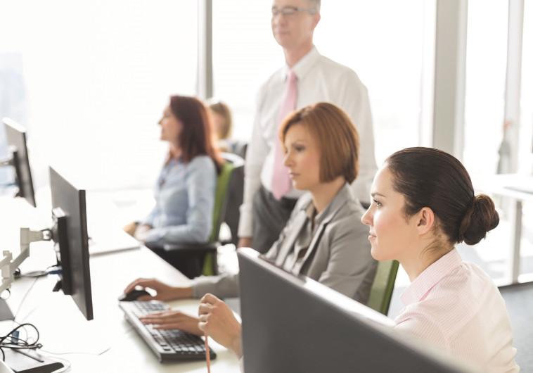נשים במקום העבודה, אילוסטרציה