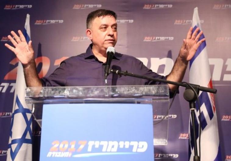 אבי גבאי בנאום ניצחון
