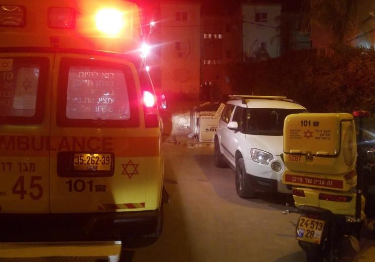 זירת חשד לרצח בבאר שבע