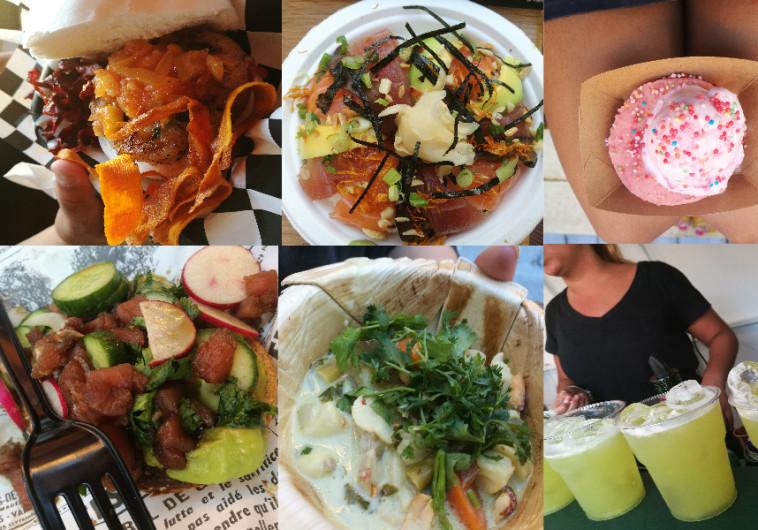 מתחם ה-Food Truck Disco בתל אביב