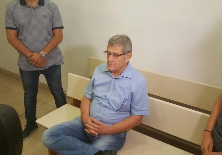 מיקי גנור בעת הדיון על הארכת המעצר