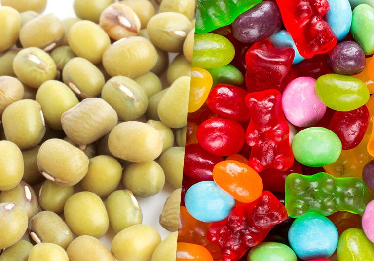 קטניות וסוכריות