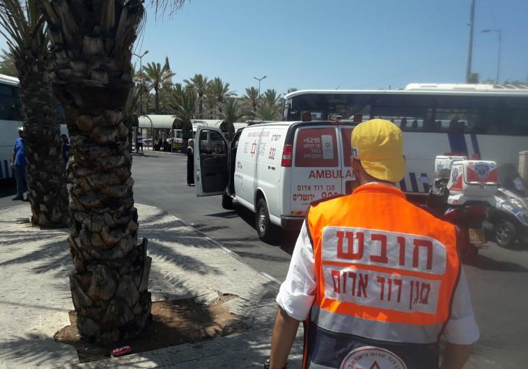 אזור הפיגוע בירושלים