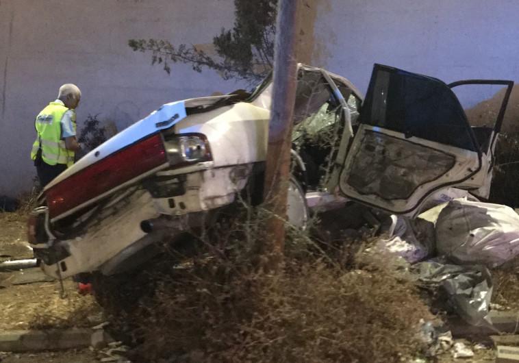 תאונת הדרכים בכביש 75