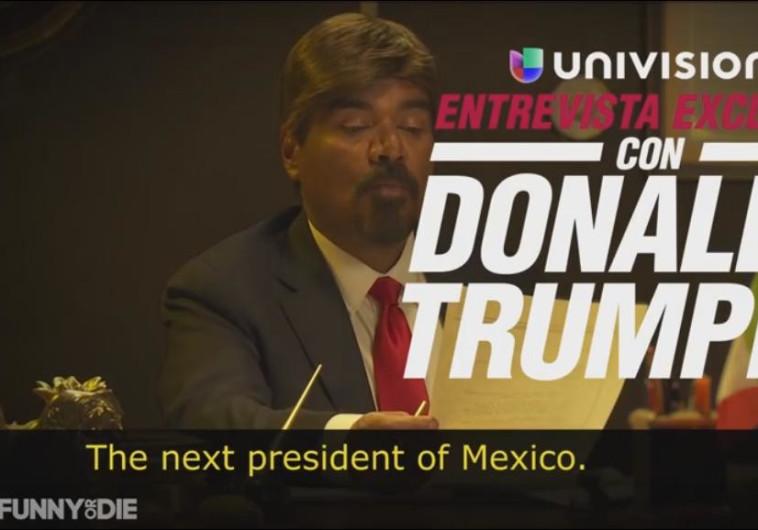 ג'ורג' לופז, טראמפ המקסיקני