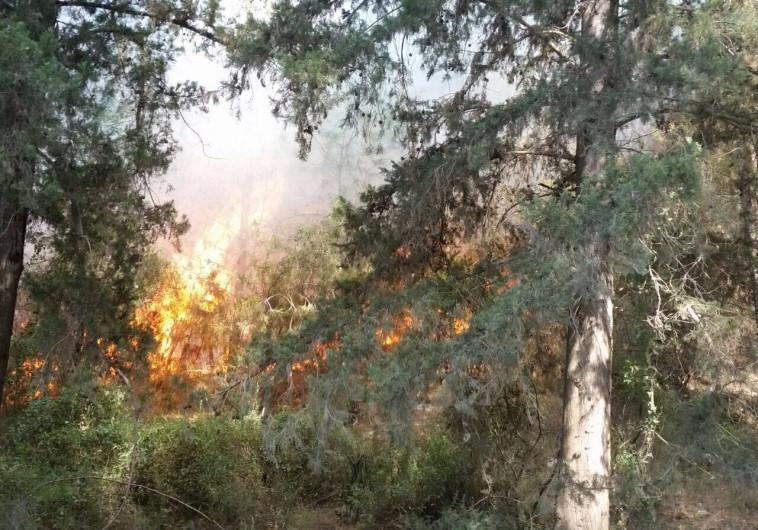 שריפה ברמות מנשה