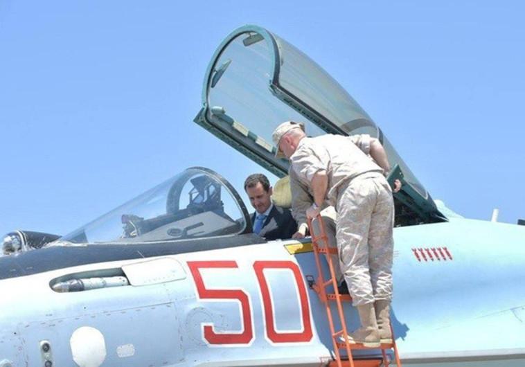 רק ישראל פיספסה את הניצחון. בשאר אסד במטוס קרב, צילום: רויטרס