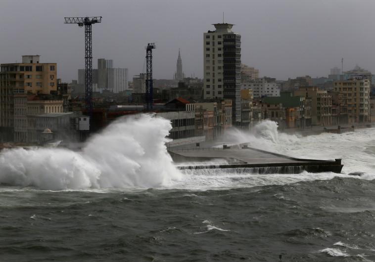 פלורידה קיז במהלך הוריקן אירמה