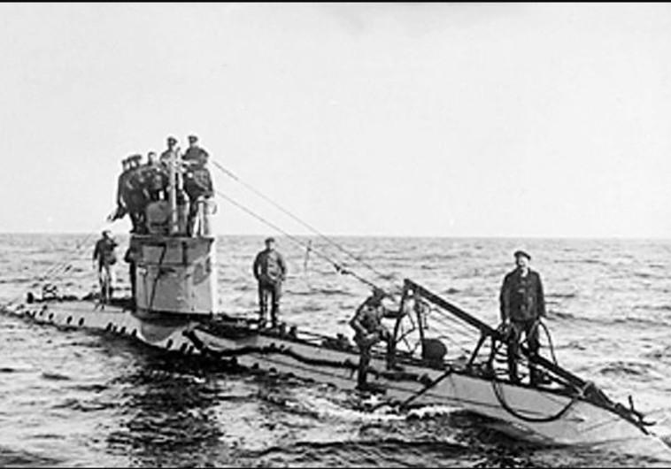 צוללת גרמנית ממלחמת העולם הראשונה