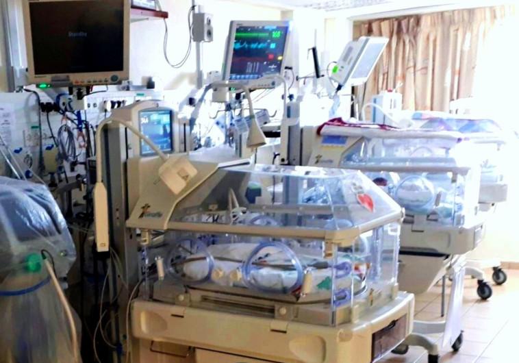 המחלקה לטיפול נמרץ ביילוד במרכז הרפואי זיו