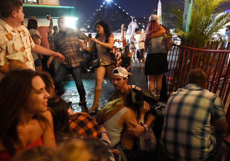 ירי בפסטיבל מוזיקה בלאס וגאס