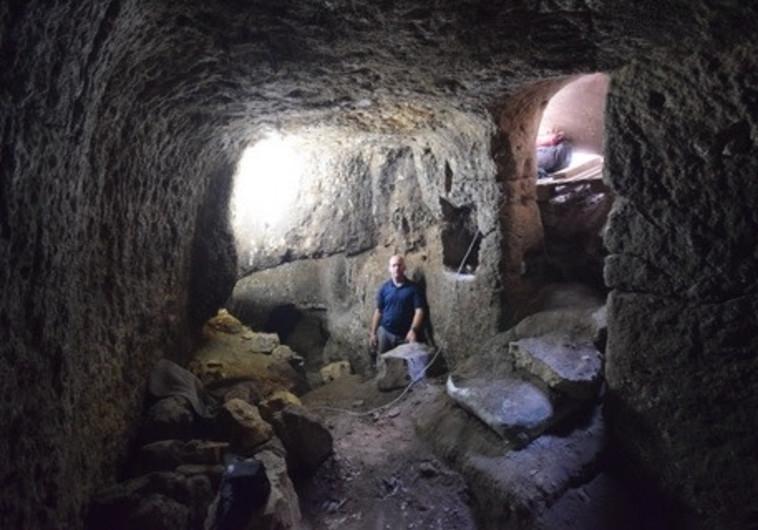 התגלית הארכיאולוגית מהתקופה הרומית שנבזזה בגליל
