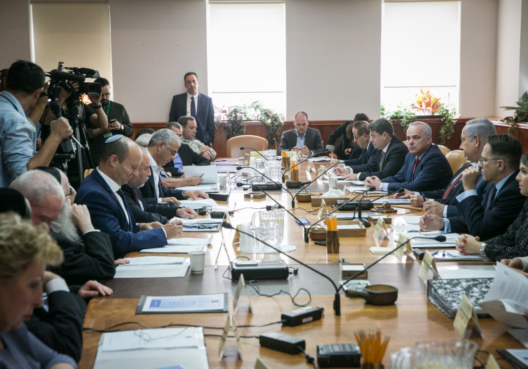 """""""ישמור על החוסן הכלכלי"""": הממשלה אישרה את תקציב המדינה ל-2019"""