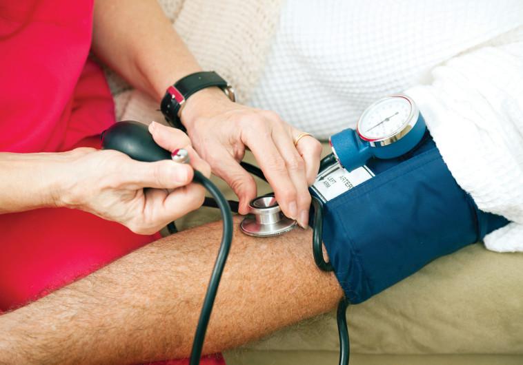 מדידת לחץ דם, אילוסטרציה