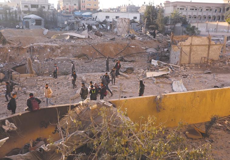 """דיווח: משלחת מצרית העבירה מסר לבכירי חמאס - """"אתם לא חסינים במקרה של הסלמה"""""""