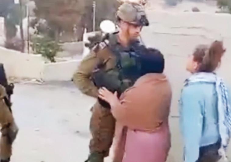 עאהד תמימי מנבי סאלח בסרטון שעורר סערה