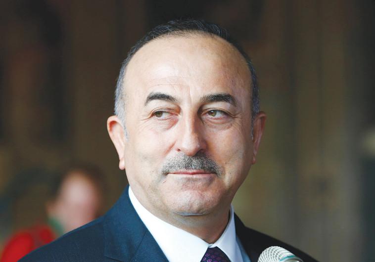 שר החוץ הטורקי צ'אבושאולו