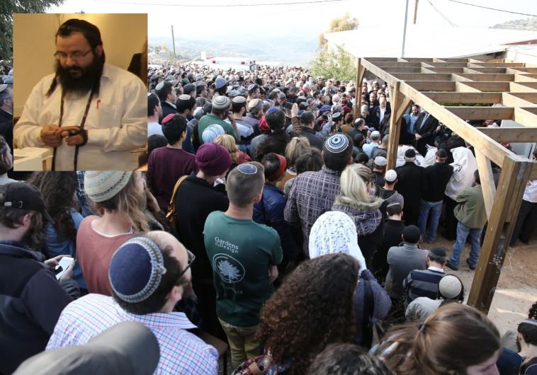 הלווייתו של הרב רזיאל שבח