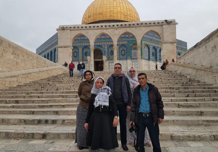 משלחת עיתונאים ממדינות ערב