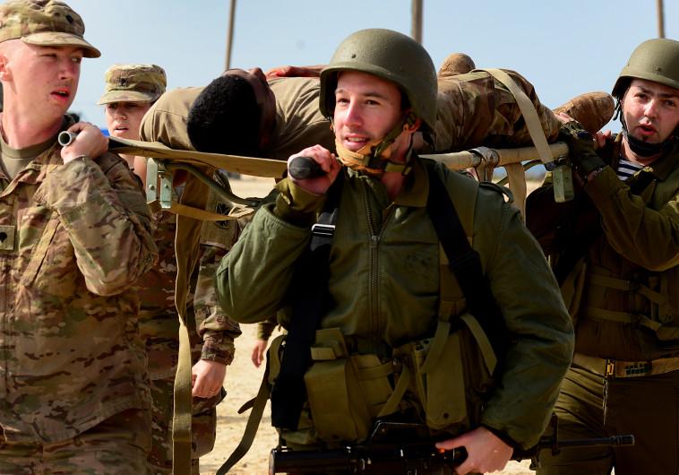 """תרגיל משותף של צה""""ל עם צבא ארה""""ב"""
