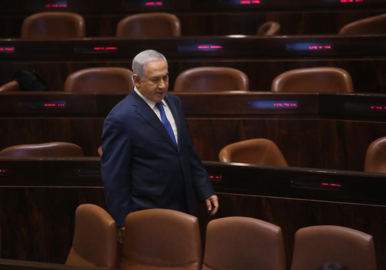 ראש הממשלה בנימין נתניהו בכנסת