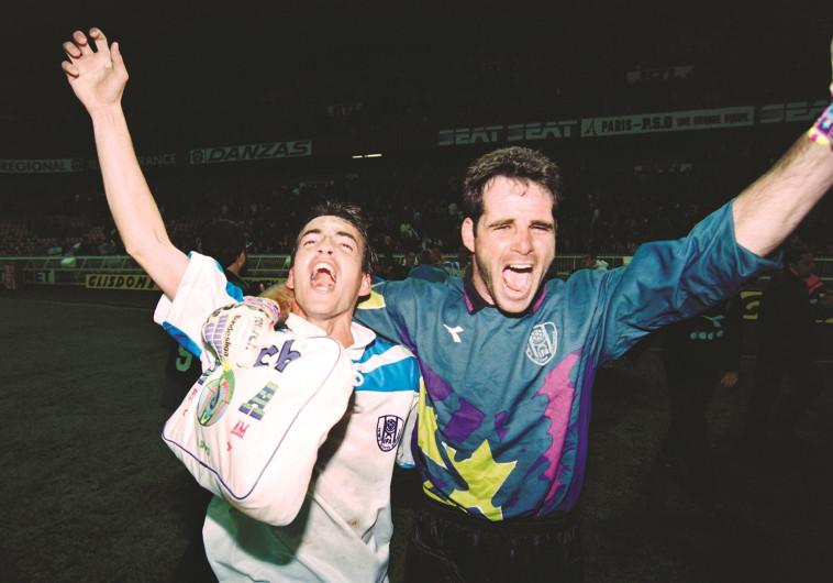 בוני גינצבורג ואייל ברקוביץ' מנצחים בפארק דה פראנס