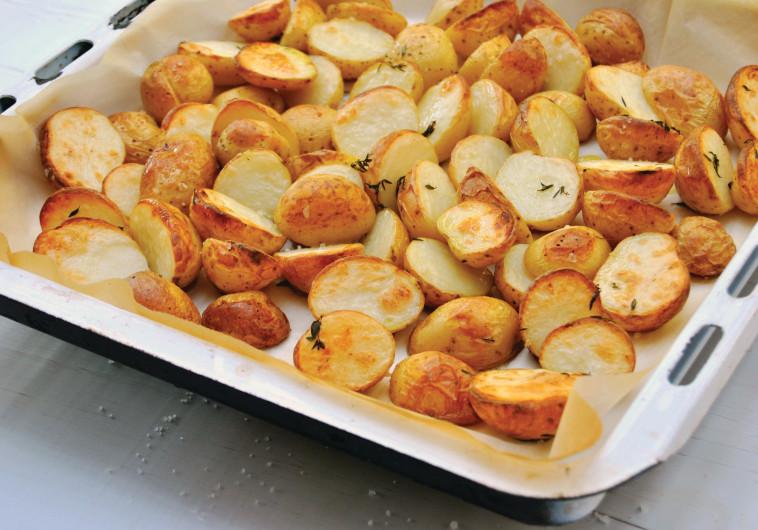תפוחי אדמה קטנים בתימין