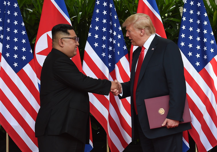 דונלד טראמפ, קים ג'ונג און