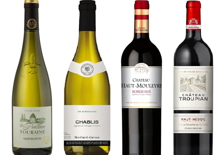 ארבע על ארבע: ארבעה יינות חדשים מצרפת