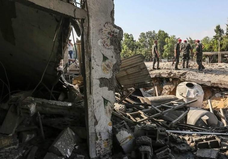"""ההרס ברצועת עזה בעקבות הפצצות צה""""ל"""