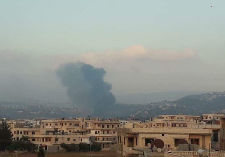 פיצוץ באזור חמה, סוריה