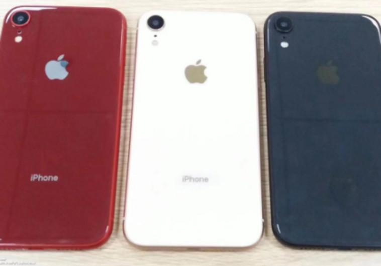 כך ייראה האייפון XS לפי אחת ההדלפות.