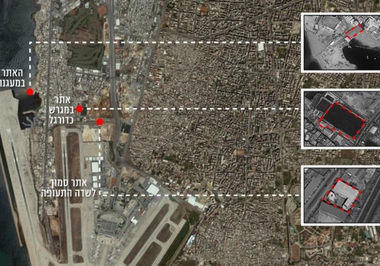 """לאחר נאום נתניהו: צה""""ל חושף את אתרי הטילים המדויקים של חיזבאללה 503187"""