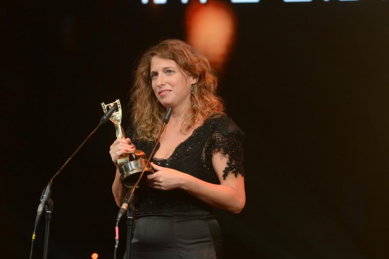 זוכת פרס הבמאית הטובה והסרט הטוב, עילית זקצר. צילום: אבשלום ששוני