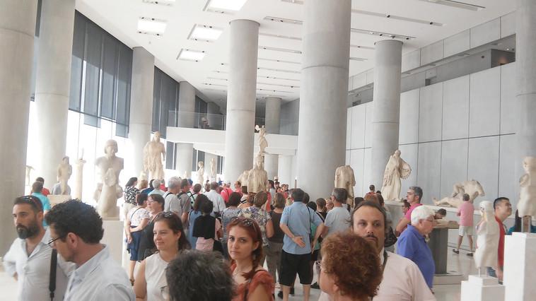 מוזיאון האקרופוליס. צילום: מאיר בלייך