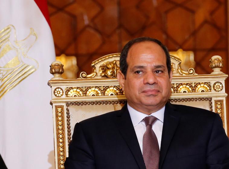נשיא מצרים, עבד אל פתח א-סיסי . צילום: רויטרס