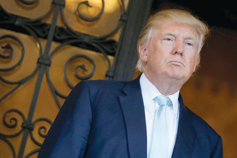 ביקורת בסביבת טראמפ. צילום: רויטרס
