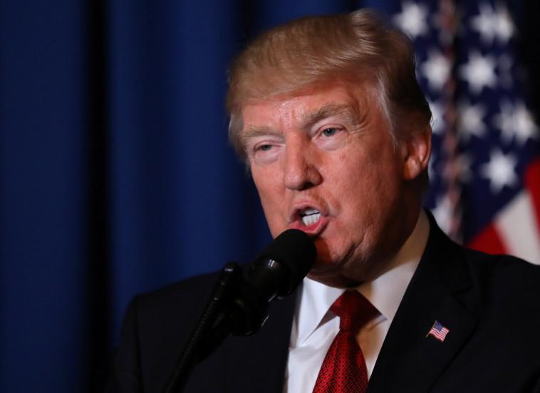 """הנשיא טראמפ. """"וורמבייר התמודד עם תנאים קשים"""". צילום: רויטרס"""